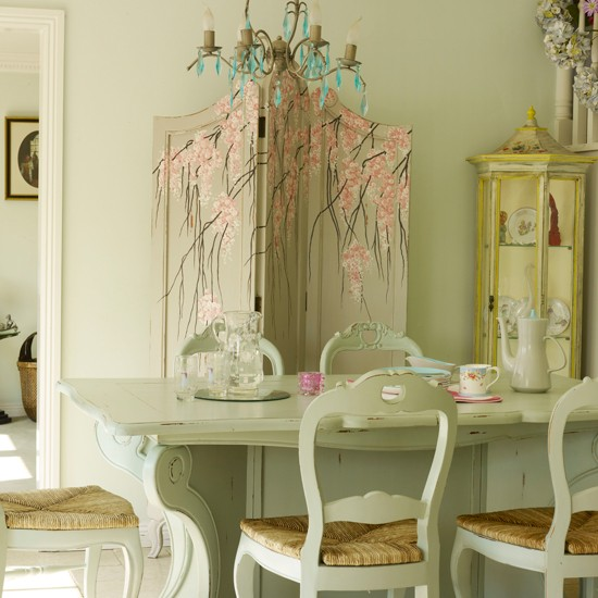 Vintage Country Dining Room Contemporary Country Decorating Ideas
