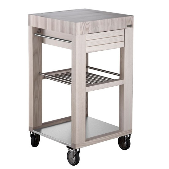 how to make a butchers block trolley