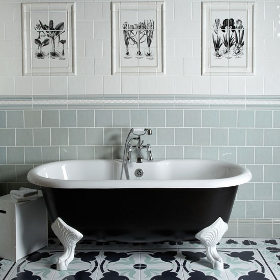 Opt For Classic Bathroom Tiles Housetohomecouk