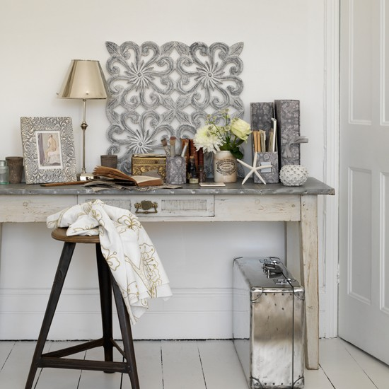 Metal home office | Country decorating ideas | Country Homes & Interiors | Housetohome