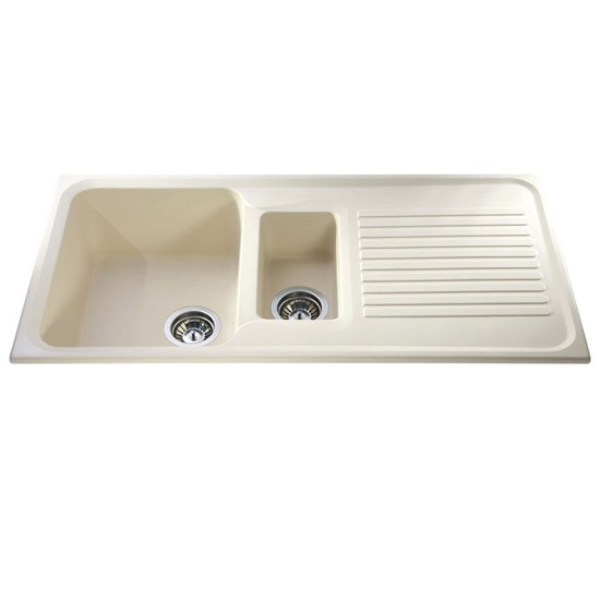 AS2 posite one & half bowl sink by CDA