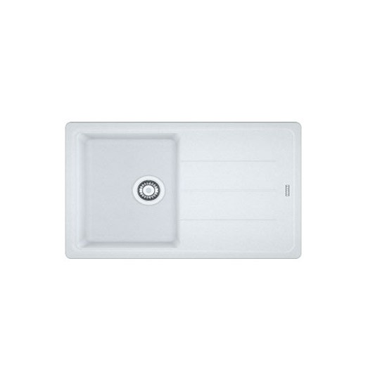 White Single Bowl Kitchen Sink : Fragranite ceramic white single bowl sink by Franke Kitchen sinks ...