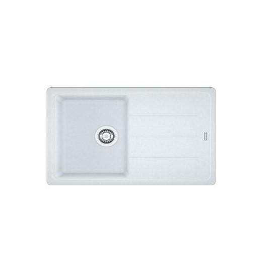 Fragranite ceramic white single bowl sink by Franke Kitchen sinks ...
