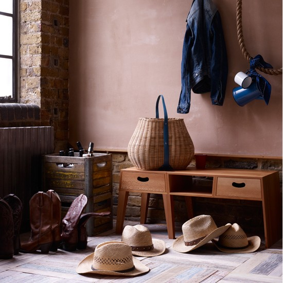 Western-style cloakroom | Contemporary country decorating ideas | Livingetc | Housetohome