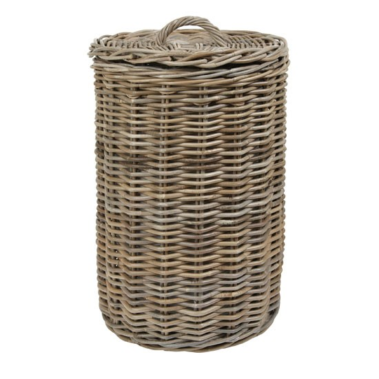 Kubu laundry basket from Laura Ashley | bathroom | PHOTO GALLERY | Country Homes and Interiors | Housetohome.co.uk