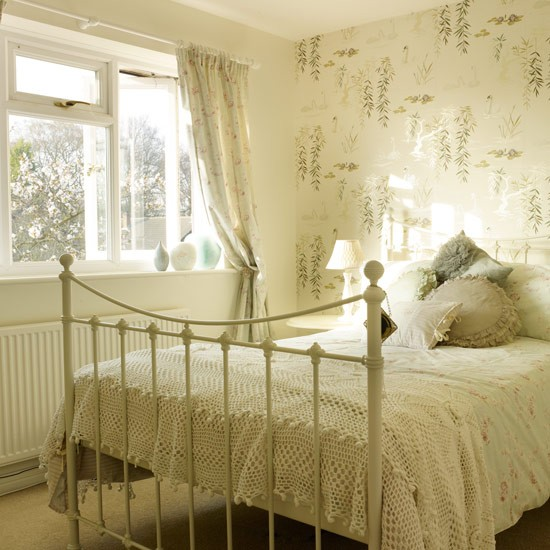 Iron bed | Bedroom | PHOTO GALLERY | Style at Home | Housetohome.co.uk