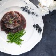 Serve with a red wine sauce