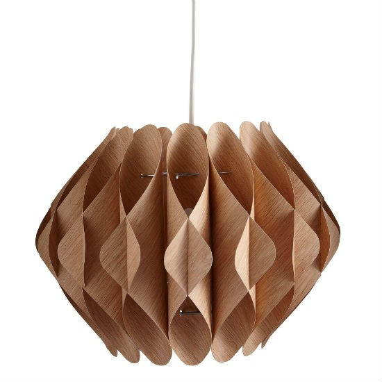 Living Natural Pendant Shade From Argos