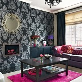 Living room colour scheme - 7 ways to add drama