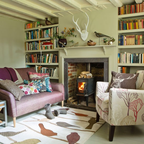 Make room for storage | Living room | PHOTO GALLERY | Country Homes and Interiors | Housetohome.co.uk