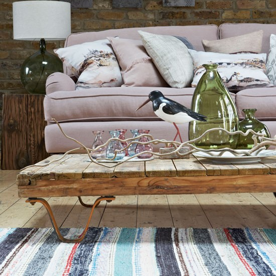 Fall in love with salvage | Living room | PHOTO GALLERY | Country Homes and Interiors | Housetohome.co.uk