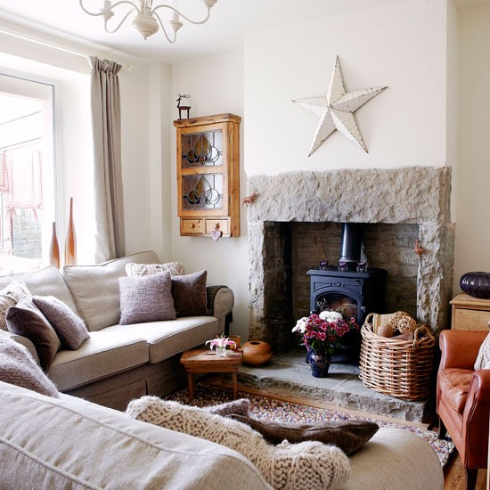 Tempting texture | Living room | PHOTO GALLERY | Country Homes and Interiors | Housetohome.co.uk