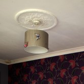 Before you remove your old light fitting, switch off your electricity at the mains for safety