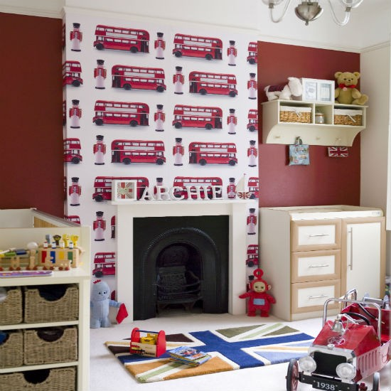 create a fun space for your childs nursery