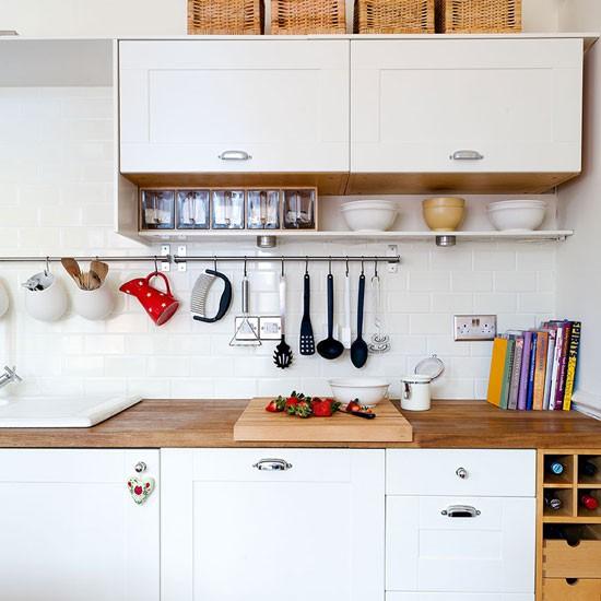 Utilise your walls kitchen conversion - Comment amenager une petite cuisine en longueur ...