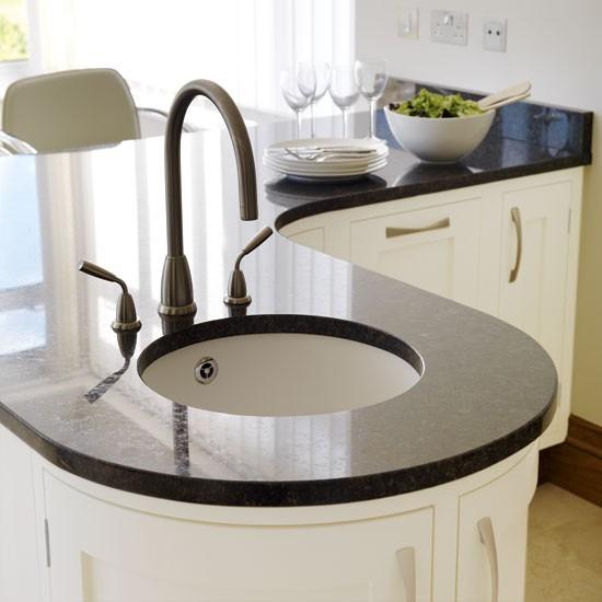 Cream painted kitchen sink taps Kitchen PHOTO GALLERY Beautiful ...