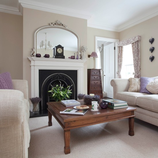 Decorating Ideas Color Inspiration: Neutral Period Living Room