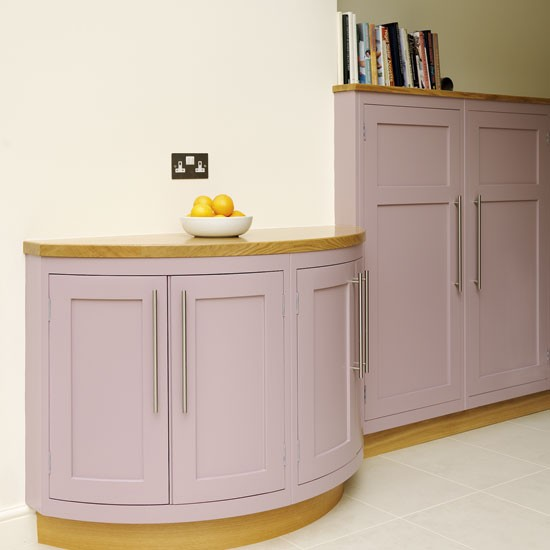 curved cabinetry be inspired by a spacious kitchen
