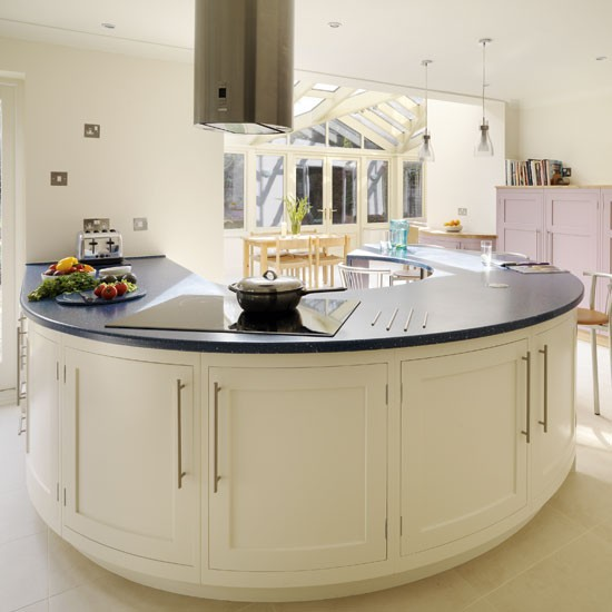 Kitchen Island Extension: Be Inspired By A Spacious Kitchen Extension