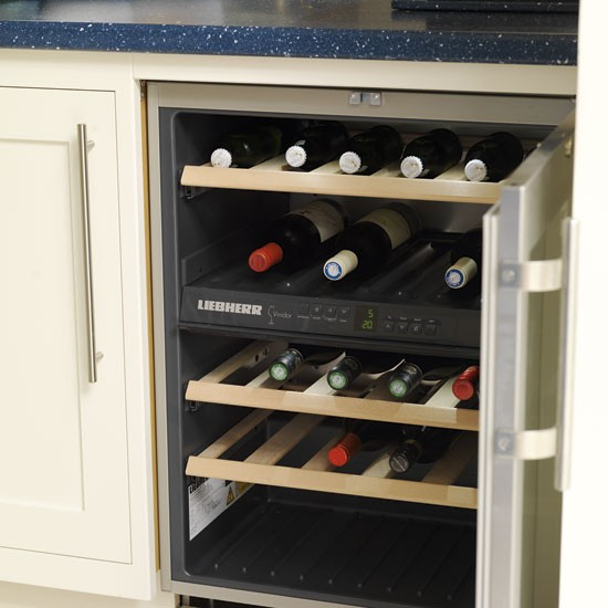 Wine storage be inspired by a spacious kitchen extension - Kitchens with wine coolers ...