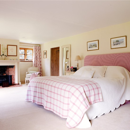 Pink Traditional Bedroom Country Decorating Ideas Country Homes