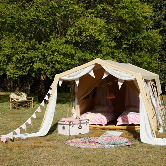Pretty outdoor garden tent