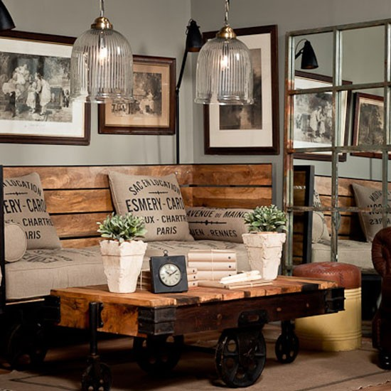 A masterclass in industrial chic uniche interior furnishings - Style industriel chic ...