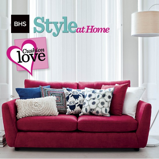 See your cushion on sale plus receive £500 to spend in BHS