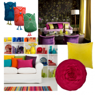 Colourful Cushion Ideas