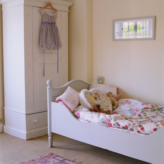 Classic pale painted child's bedroom with French furniture | Bedroom | PHOTO GALLERY | Homes & Gardens | Housetohome.co.uk