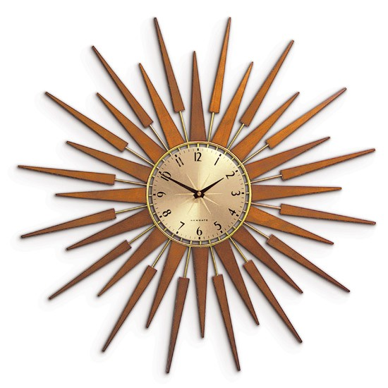 Pluto Starburst Clock from Newgate Clocks | Wall clocks | Traditional clocks | PHOTO GALLERY | Housetohome