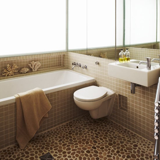 pebble tile bathroom flooring bathroom flooring ideas bathrooms