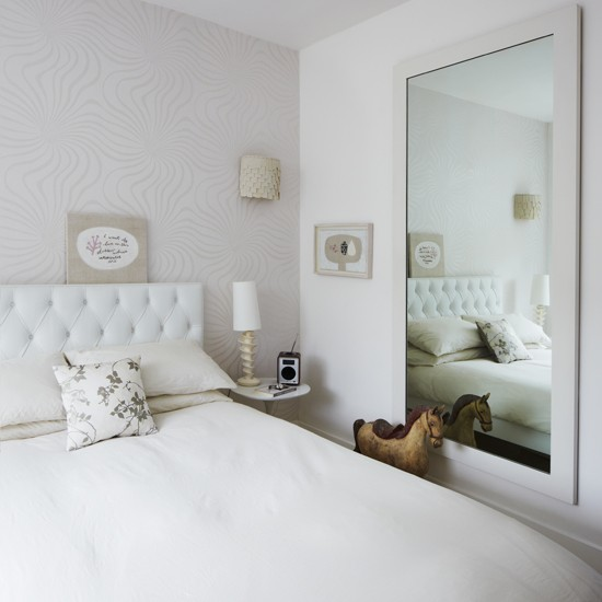 Elegant White Bedroom Modern Decorating Ideas