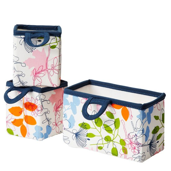 Notudden hanging storage boxes from Ikea | Colourful bathroom accessories | PHOTO GALLERY | Style at Home | Housetohome