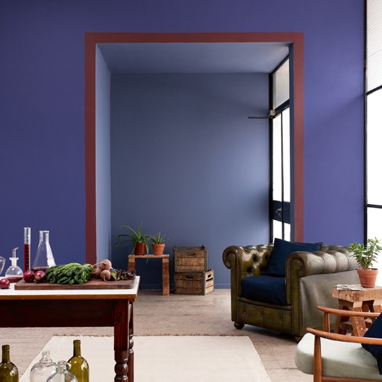 Home Factory is a new range of paint colours from Dulux