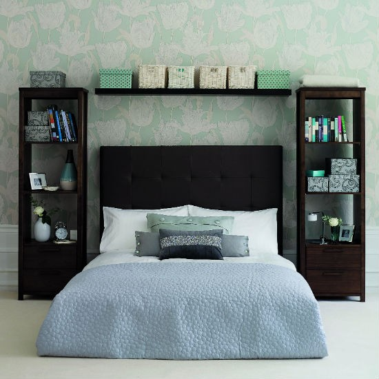bedroom wall storage ideal