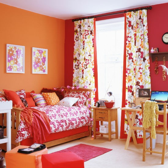Bedroom Decorating Ideas And Colours colourful bedroom decorating ideas - home ideas designs