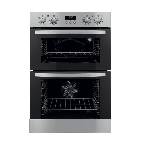 zanussi built in double oven built in double ovens. Black Bedroom Furniture Sets. Home Design Ideas