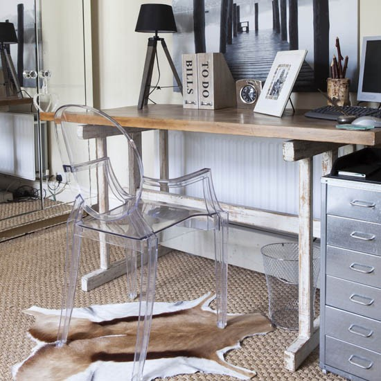 Stylish home office | Formal home office | Traditional home office | decorating ideas | PHOTO GALLERY | 25 Beautiful Homes | Housetohome
