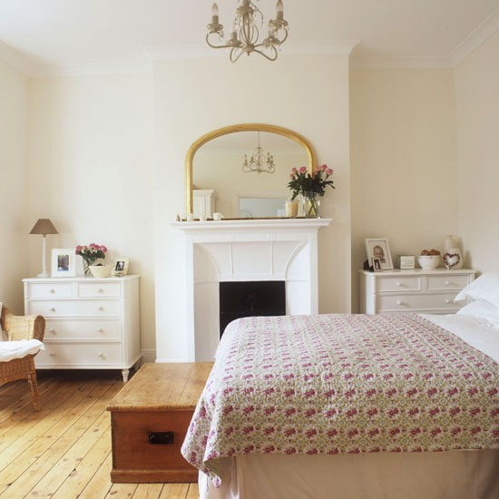 Traditional country bedroom country bedrooms 10 of the for Bedroom ideas with fireplace