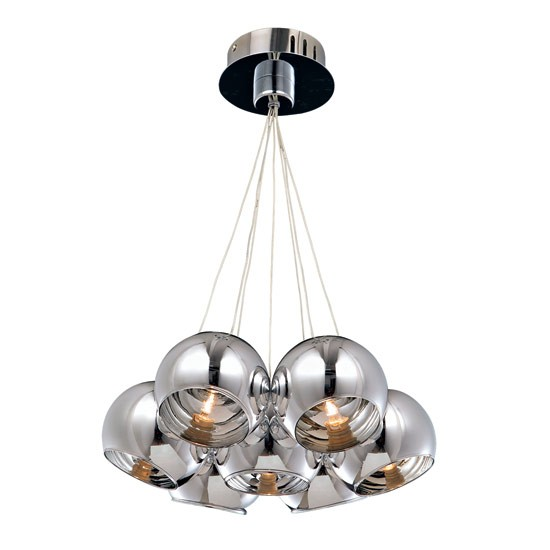 Barnaby pendant light from Homebase | PHOTO GALLERY | Style at Home | Housetohome