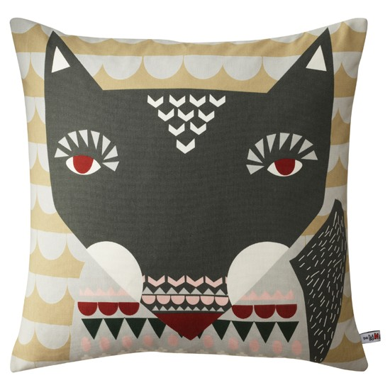 Donna Wilson wolfie cushion from Home and Kids |Woodland trend | Autumn winter 2012 | PHOTO GALLERY | Housetohome.co.uk