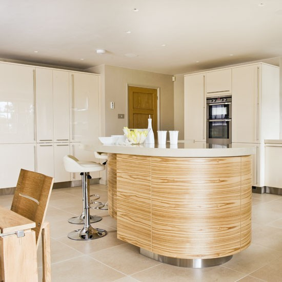 Be inspired by this glossy cream kitchen  housetohome co uk