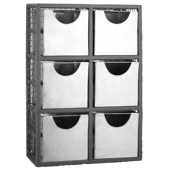 6-drawer storage unit by John Lewis | Industrial trend | Autumn winter 2012 | PHOTO GALLERY | Housetohome.co.uk