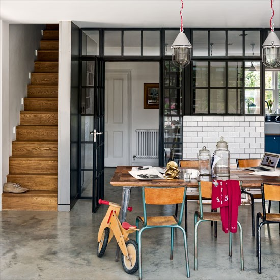 Kitchen diner be inspired by a luxurious and quirky west for Quirky modern kitchen