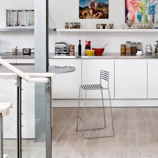 White open-plan kitchen | Modern decorating ideas | Livingetc | Housetohome