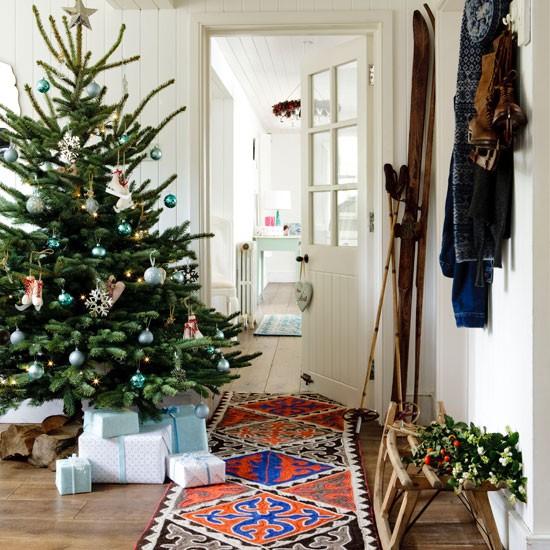 Bring In Colour Christmas Hallways Housetohome Co Uk
