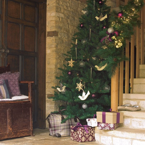 New Home Design Ideas Theme Inspiration 10 Hallway: Christmas Hallways