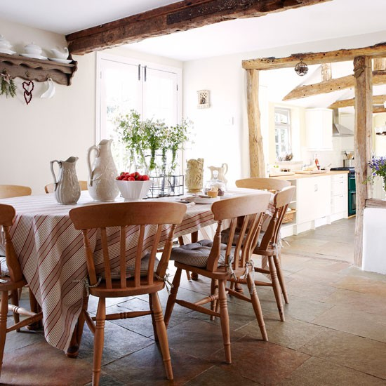 Simple Country Dining Rooms A Simple Country Kitchen Diner