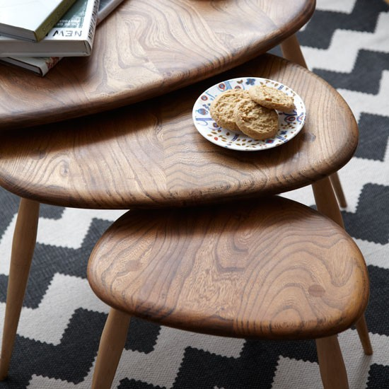 Nest of tables   house tour   ideal home   house to home